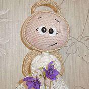 Куклы и игрушки ручной работы. Ярмарка Мастеров - ручная работа Бонни в костюме ангелочка. Handmade.