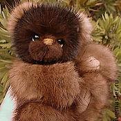 Куклы и игрушки ручной работы. Ярмарка Мастеров - ручная работа Valentin - mink baby bear. Handmade.