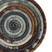 Аксессуары ручной работы. Ярмарка Мастеров - ручная работа Украшение на шею Lasso Stone вязаный шарф колье бусы. Handmade.