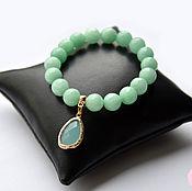Украшения handmade. Livemaster - original item Bracelet agate Tiffany. Handmade.