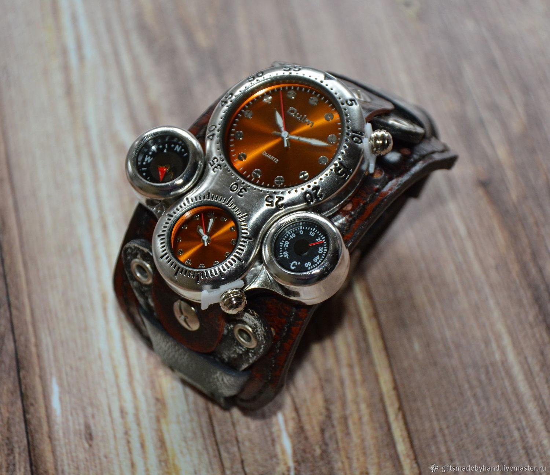 Часы мужские. Подарок мужчине, Часы наручные, Москва,  Фото №1