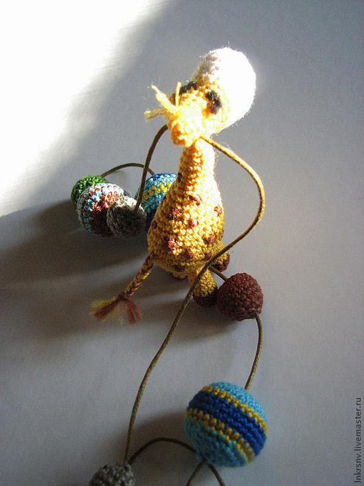 """Слингобусы ручной работы. Ярмарка Мастеров - ручная работа. Купить Слингобусы """"Жирафик"""". Handmade. Жираф, африка"""