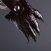 Сумки и аксессуары handmade. Livemaster - original item Keychain foot crocodile IMA0070K1. Handmade.