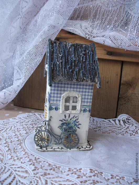 """Кухня ручной работы. Ярмарка Мастеров - ручная работа. Купить Чайный домик  """"Букет лаванды"""". Handmade. Синий"""