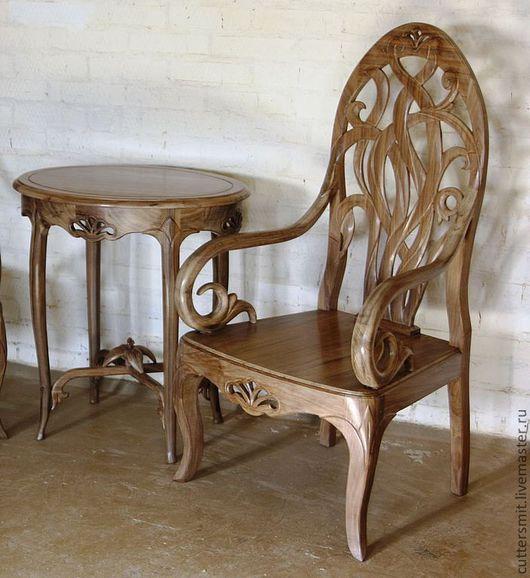 """Мебель ручной работы. Ярмарка Мастеров - ручная работа. Купить Гарнитур """"Ореховый"""". Handmade. Мебельный гарнитур, эксклюзивная мебель"""
