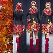 """Одежда ручной работы. Ярмарка Мастеров - ручная работа Платье """"Осенний ковер"""". Handmade."""