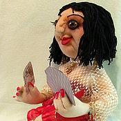 """Куклы и игрушки ручной работы. Ярмарка Мастеров - ручная работа Кукла текстильная """"Красотка Лола"""". Handmade."""