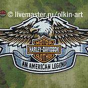 Субкультуры handmade. Livemaster - original item Dorsal stripe AN AMERICAN LEGEND HARLEY-DAVIDSON. Handmade.
