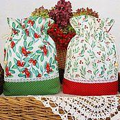 Для дома и интерьера handmade. Livemaster - original item Cotton bags