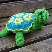 Stuffed Toys handmade. Livemaster - original item Turtle Petrovna. Handmade.
