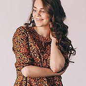 """Одежда ручной работы. Ярмарка Мастеров - ручная работа платье""""Восточные узоры"""". Handmade."""