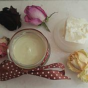 Кремы ручной работы. Ярмарка Мастеров - ручная работа Крем для рук  питательный с маслом ши и живицей. Handmade.