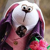 Куклы и игрушки ручной работы. Ярмарка Мастеров - ручная работа Респектабельный мужчина-заяц :). Handmade.