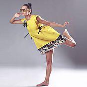 Одежда ручной работы. Ярмарка Мастеров - ручная работа платье Солнце. Handmade.