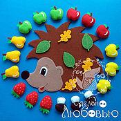 Куклы и игрушки handmade. Livemaster - original item educational game felt