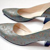 """Обувь ручной работы. Ярмарка Мастеров - ручная работа Туфли """"Зеленая поляна"""". Handmade."""
