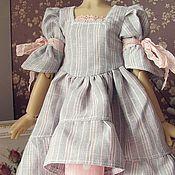 Куклы и игрушки ручной работы. Ярмарка Мастеров - ручная работа Платье на куклу БЖД (  MCD) 42-45 см №21. Handmade.