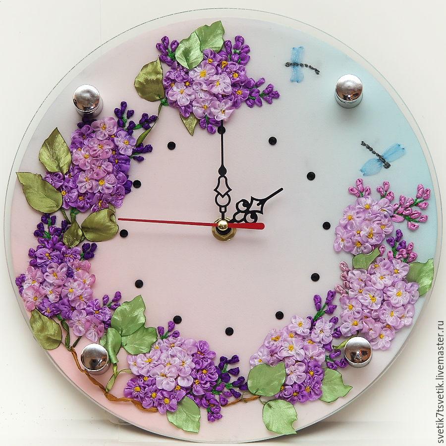 Вышивка часы купить все для часов своими руками купить