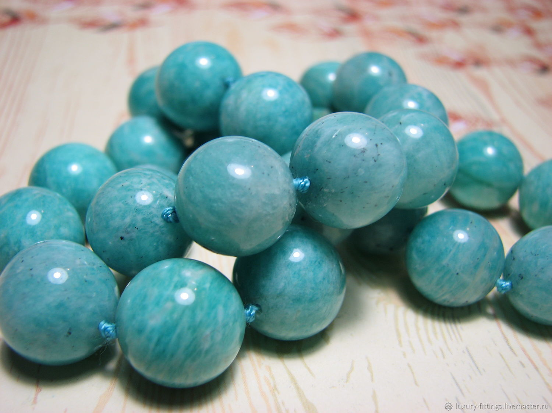 Amazonite 14 mm, Beads1, Moscow,  Фото №1