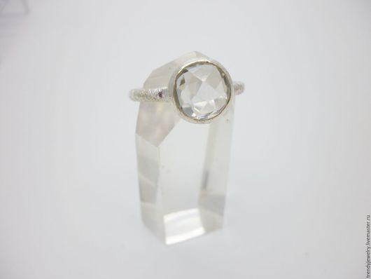 Кольца ручной работы. Ярмарка Мастеров - ручная работа. Купить Серебряное кольцо с зеленым аметистом. Handmade. Белый, кольцо с аметистом
