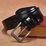 Аксессуары handmade. Livemaster - original item Men`s leather belt