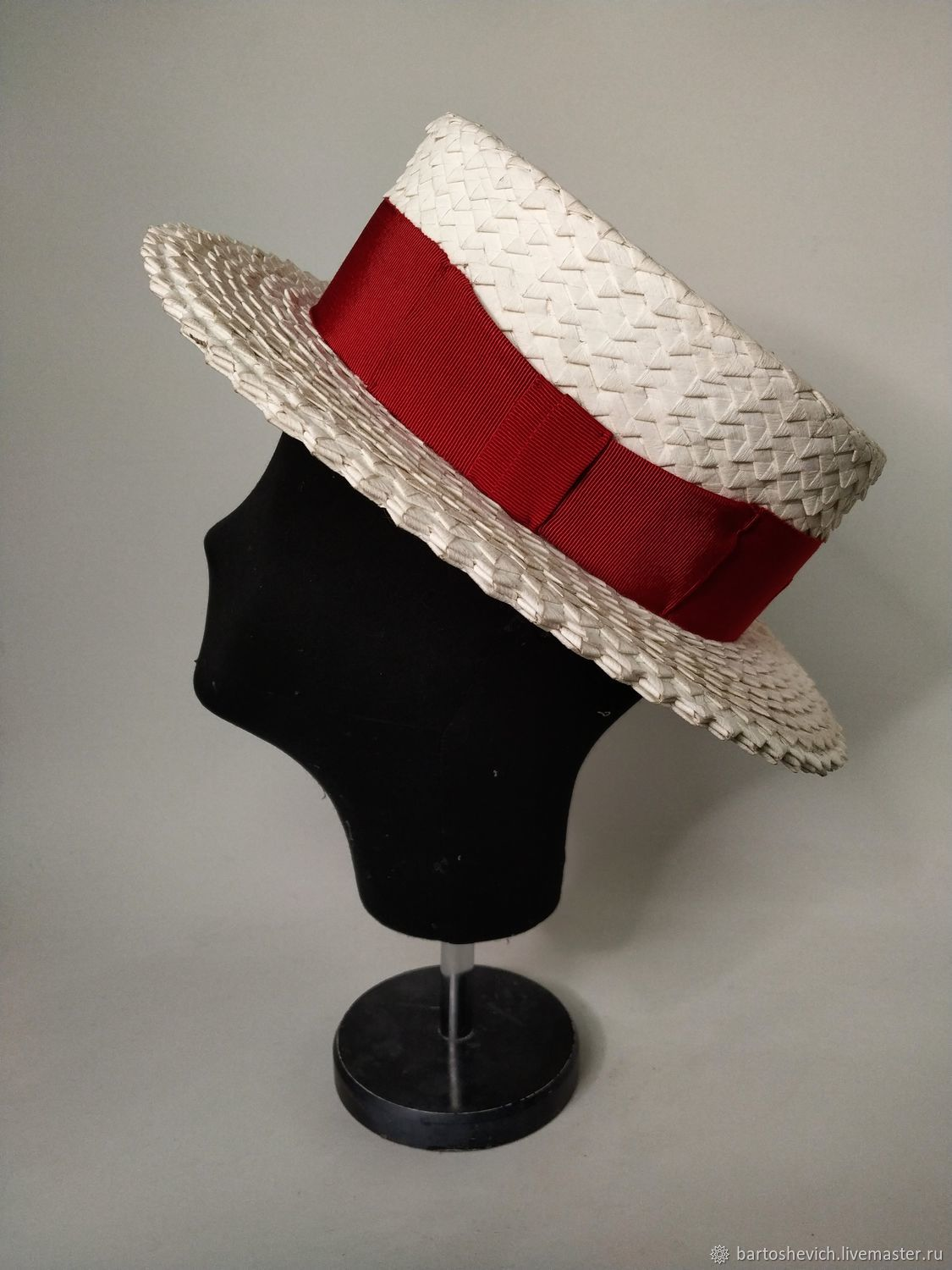 Boater hat ' Oz', Hats1, St. Petersburg,  Фото №1