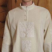 Одежда ручной работы. Ярмарка Мастеров - ручная работа Рубашка мужская. Handmade.
