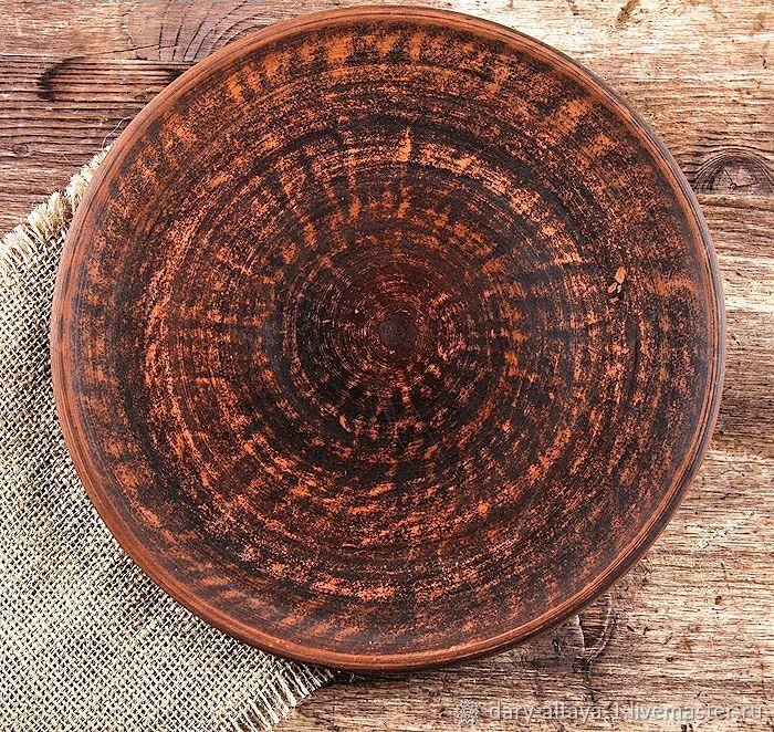 Plate 'Plane' smooth 21,5 cm, Plates, Feodosia,  Фото №1
