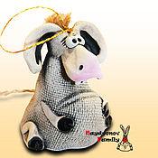 Сувениры и подарки handmade. Livemaster - original item Donkey ceramic bell. Handmade.