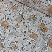 Материалы для творчества ручной работы. Ярмарка Мастеров - ручная работа 239 Хлопок 2 цвета. Handmade.