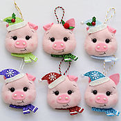 Сувениры и подарки handmade. Livemaster - original item Christmas toy felt