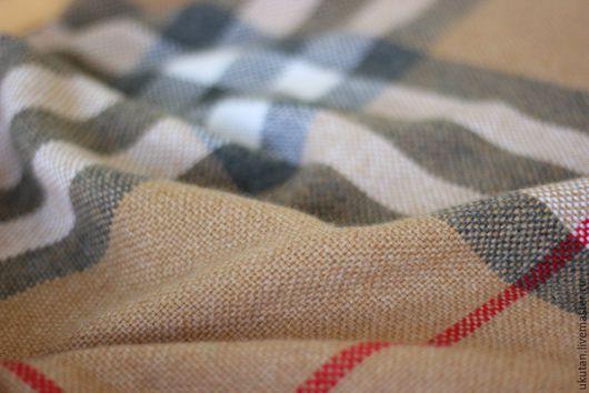 """Шали, палантины ручной работы. Ярмарка Мастеров - ручная работа. Купить Домотканый шарф-палантин """"Camel"""". Handmade. Разноцветный"""