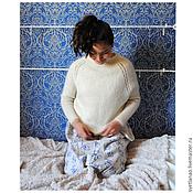 """Одежда ручной работы. Ярмарка Мастеров - ручная работа Пуловер мохеровый """"Сарана"""". Handmade."""