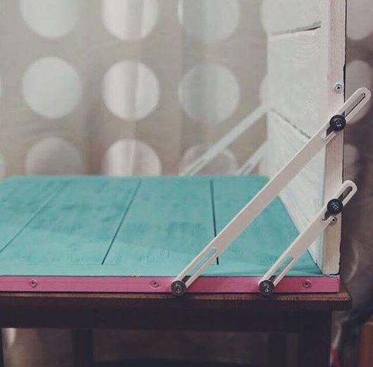 Аксессуары для фотосессий ручной работы. Ярмарка Мастеров - ручная работа. Купить Фотофон деревянный двусторонний. Handmade. Разноцветный, деревянный фотофон