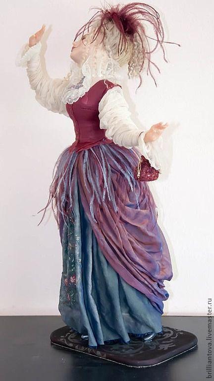 """Коллекционные куклы ручной работы. Ярмарка Мастеров - ручная работа. Купить кукла """"Танец..."""". Handmade. Авторская кукла"""