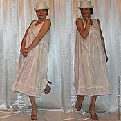 """Одежда ручной работы. Ярмарка Мастеров - ручная работа Платье """"Белый лотос"""". Handmade."""