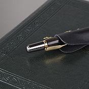 Ручки ручной работы. Ярмарка Мастеров - ручная работа Шариковая ручка Consul (морёный дуб). Handmade.