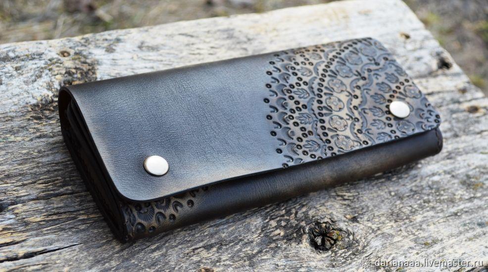 Leather vintage women's wallet №15, Wallets, Sizran,  Фото №1