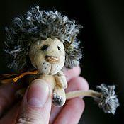 Куклы и игрушки ручной работы. Ярмарка Мастеров - ручная работа Самый маленький лев FannySavanny. Handmade.
