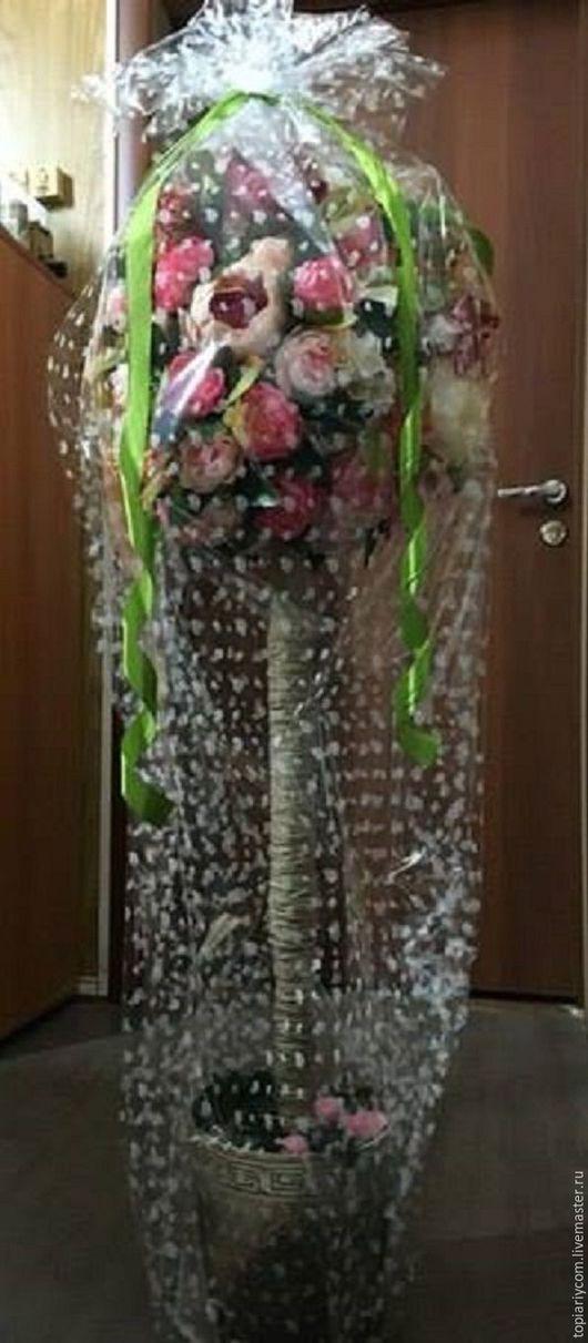 Топиарий напольный высота 130 см Красивая упаковка в подарок