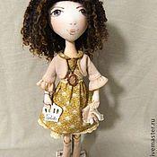 Куклы и игрушки ручной работы. Ярмарка Мастеров - ручная работа текстильная кукла Изабель. Handmade.
