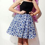 Одежда ручной работы. Ярмарка Мастеров - ручная работа Платье с пышной юбкой на бретельках. Handmade.