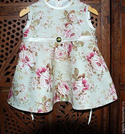 Одежда для девочек, ручной работы. Ярмарка Мастеров - ручная работа. Купить Платье для девочки ЛИЗА. Handmade. Платье для девочки