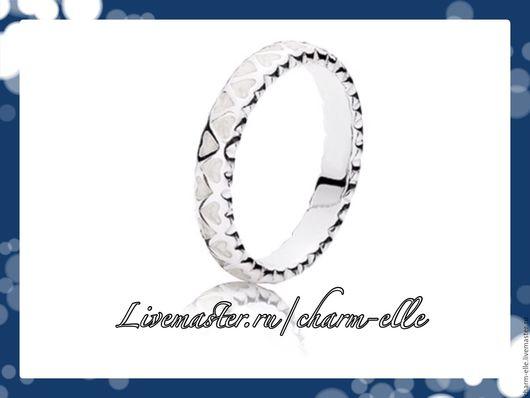 Кольца ручной работы. Ярмарка Мастеров - ручная работа. Купить 54, 56 р Кольцо из серебра с эмалью. Handmade. Серебряный