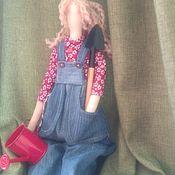 """Куклы Тильда ручной работы. Ярмарка Мастеров - ручная работа """"Садовые радости"""". Handmade."""