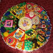 Куклы и игрушки ручной работы. Ярмарка Мастеров - ручная работа Развивающий коврик Совунья-2. Handmade.