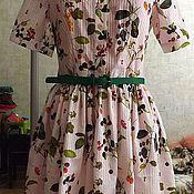 """Одежда ручной работы. Ярмарка Мастеров - ручная работа платье повседневное  """"Райские ягодки"""". Handmade."""