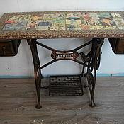 """Для дома и интерьера ручной работы. Ярмарка Мастеров - ручная работа Оригинальный стол """"Модный салон"""". Handmade."""