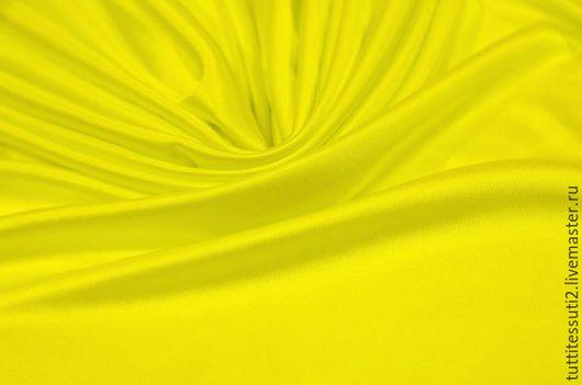 Шитье ручной работы. Ярмарка Мастеров - ручная работа. Купить Трикотаж 03-001-0513. Handmade. Желтый, вискоза 100%