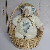 Куклы и игрушки ручной работы. Ярмарка Мастеров - ручная работа Тильда овечка. Handmade.